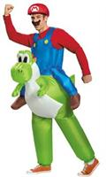 Mario Riding Yoshi Adult 42-46 Costume