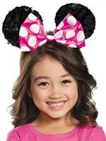 Girl's Pink Minnie Mouse Ears