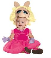 Girl's Miss Piggy Costume