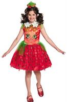Girl's Shopkins Strawberry Kiss Costume