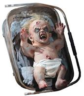 Animated Zombie Baby