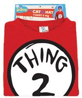 Adult Dr. Seuss Thing 2 Costume Kit