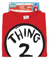 Adult Thing 2 Costume Kit