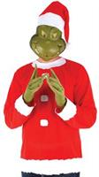 Adult Santa Grinch Costume