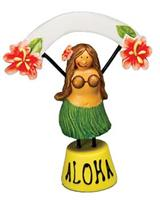 Hula Girl Place Settings