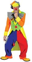 Men's Spanky Striped Clown Costume