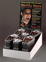 DRACULA FANGS DISPLAY 12 PCS