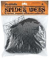 Black Spider Webs
