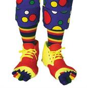 Clown Shoes with Socks