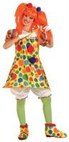 Women's Giggles Clown Costume