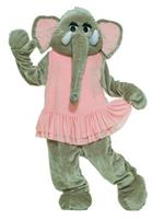 Adult Dancing Elephant Mascot Costume