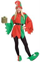 Women's Santa's Helper Elf Costume