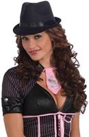 Women's Satin Fedora