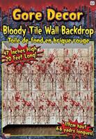 Bloody Tile Wall