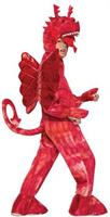 Unisex Red Dragon Costume