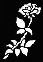 Stencil Rose Brass