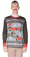 Men's Ugly Christmas Weiner T-Shirt