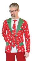 Men's Ugly Christmas Suit And Tie