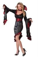 Women's Ruffle Vampiress Costume