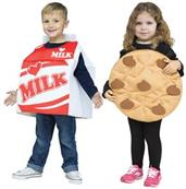 Toddler Milk & Cookie Costume