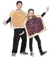 Unisex Peanut Butter N Jelly Costume