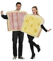 Adult Ham And Swiss Couples Costume