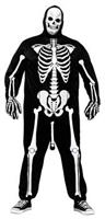 Men's Skeleboner Plus Size Costume