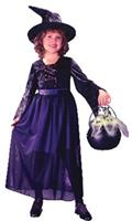 Girl's Storybook Witch Child Costume