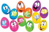 Easter Comic Eggs Package Of 6