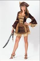 Women's Sassy Victorian Pirate Costume