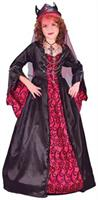 Girl's Bride Of Satan Costume