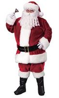 Men's Plus Size Crimson Santa Suit