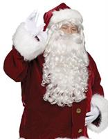 Santa Wig And Beard Super  Deluxe