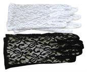 GLOVES LACE WHITE