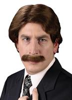 Mens Wig and Mustache