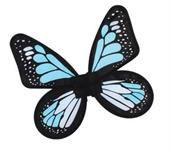 Wings Butterfly Satin Child Blue