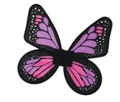 Wings Butterfly Satin Child Pink/