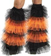 Boot Covers Tulle Ruffle