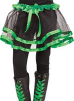 Ribbon Tutu Child Green