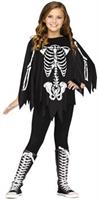 PonChildo Skeleton Child Costume Up To 14