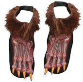 Werewolf Shoe Cover Adult Brow