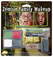 Zombie Family Makeup Accessory Kit