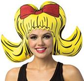 Bouffant Yellow Foam Hat