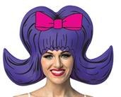 Bouffant Comic Wig