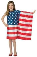 Usa Flag Dress 7-10
