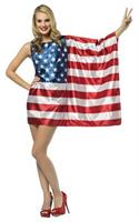 Flag Dress Usa Adult