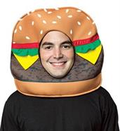 Adult Cheeseburger Mask