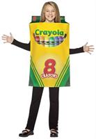 Unisex Crayola Crayon Box Child Costume