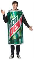 Adult Mountain Dew Costume