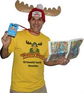 Adult Wally World Park Fan Costume